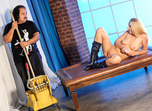 Ron Jeremy Caught Me Stripping