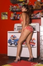 Red With White Polka Dot Bikini Toy Room picture 22
