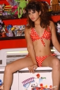 Red With White Polka Dot Bikini Toy Room picture 25